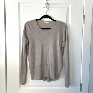 OAK + FORT / GREY LONG SLEEVE TOP